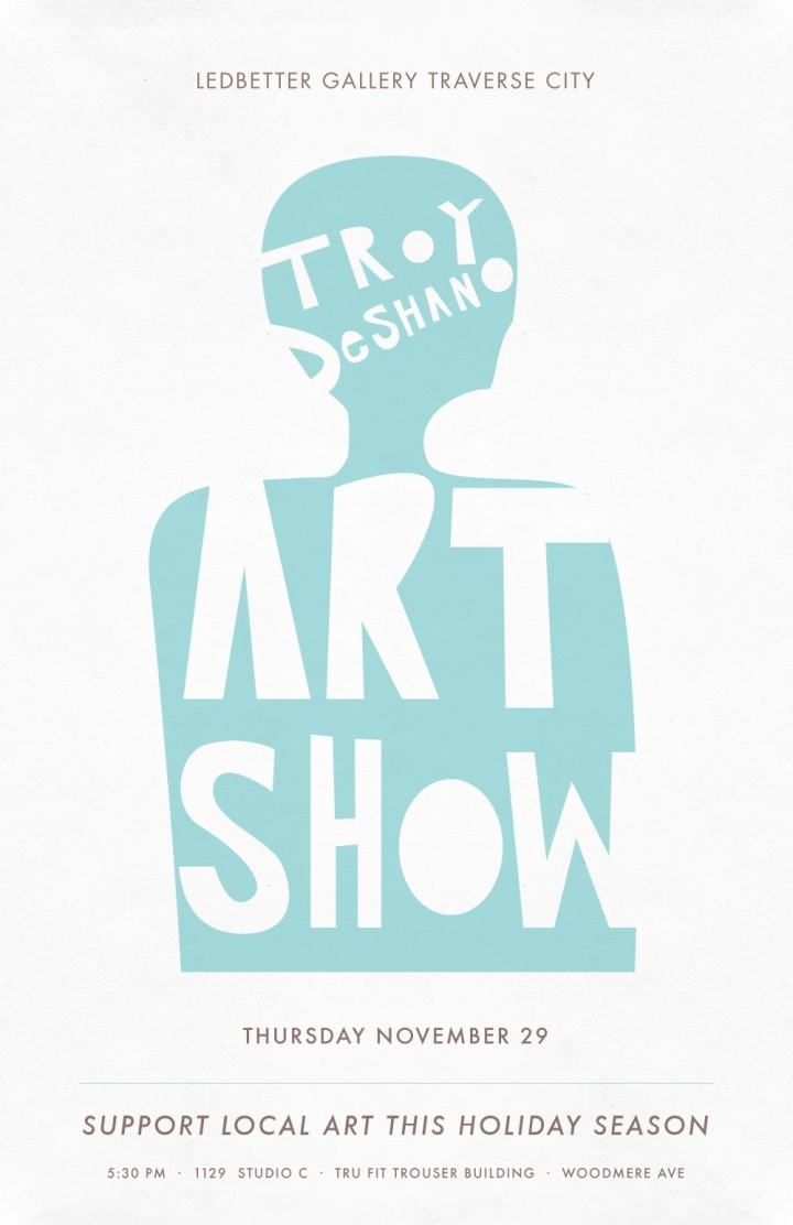 Traverse City Art Show Poster