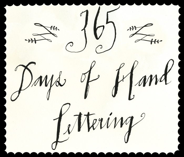 Lisa Congdon - 365 Days of Hand Lettering