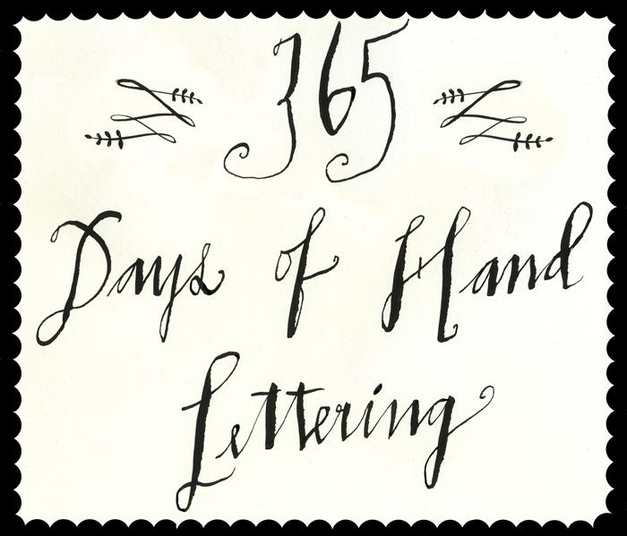 Lisa Congdon - 365 Days of Hand Lettering