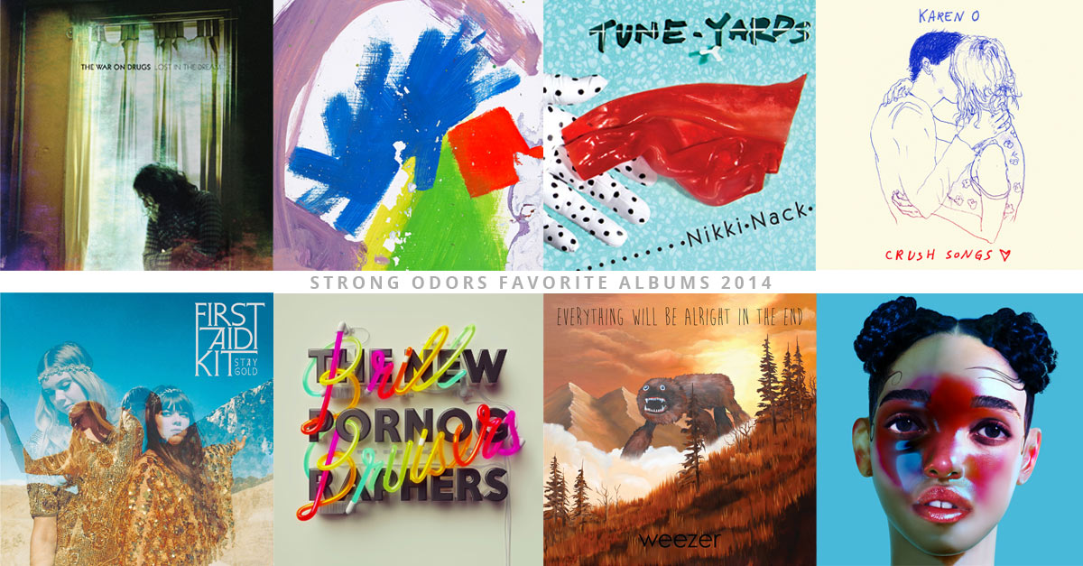 2014 Favorite Albums