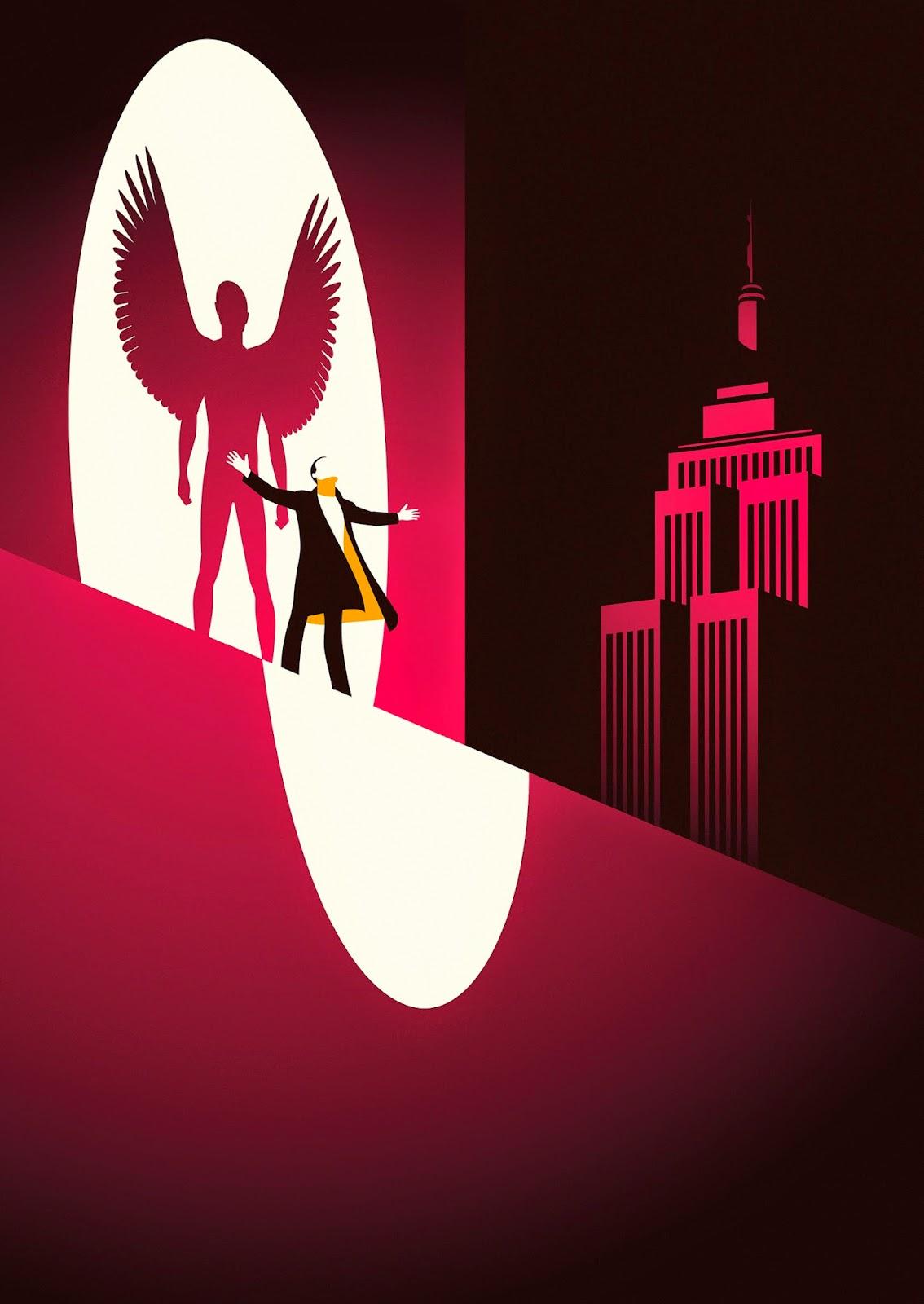 Malika Favre BAFTA Birdman Poster