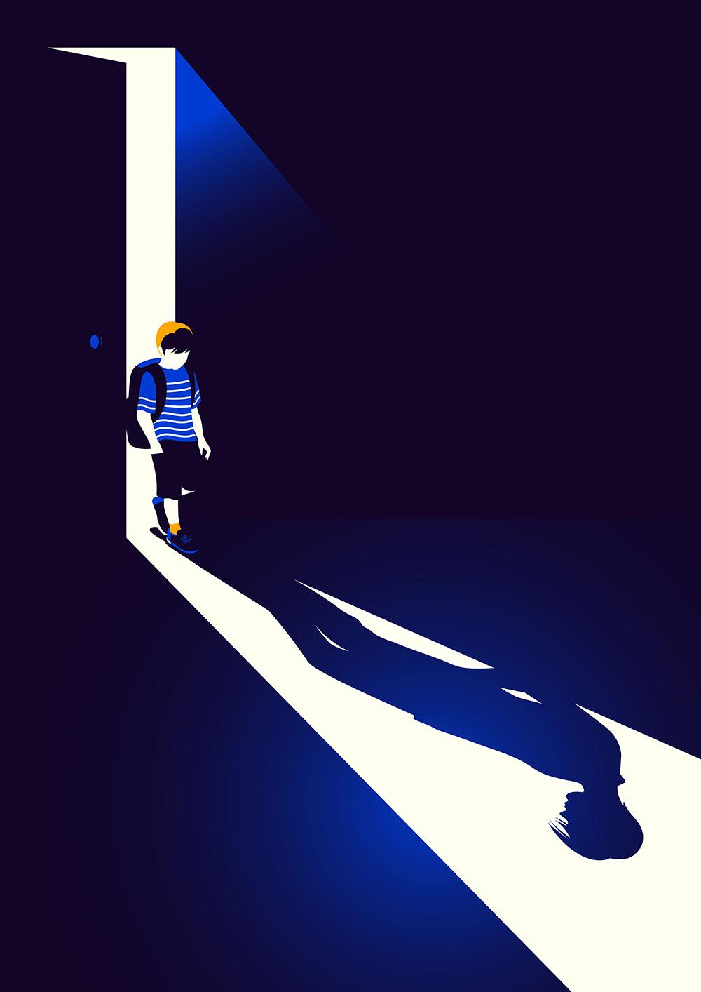 Malika Favre BAFTA Boyhood Poster