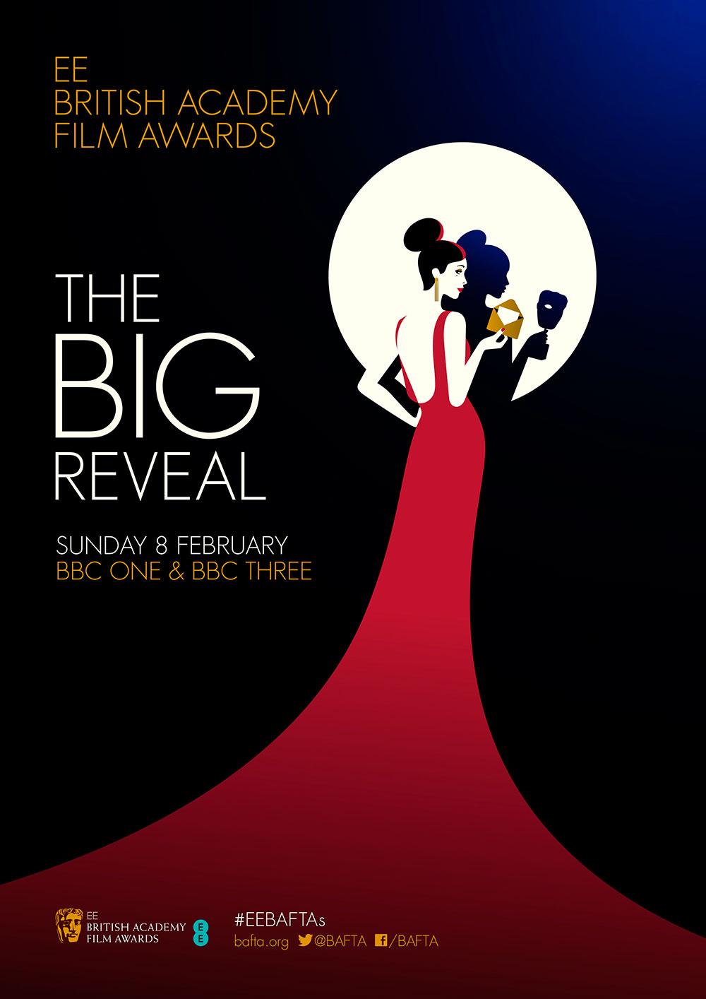 Poster design best - Malika Favre Bafta Program Cover Design