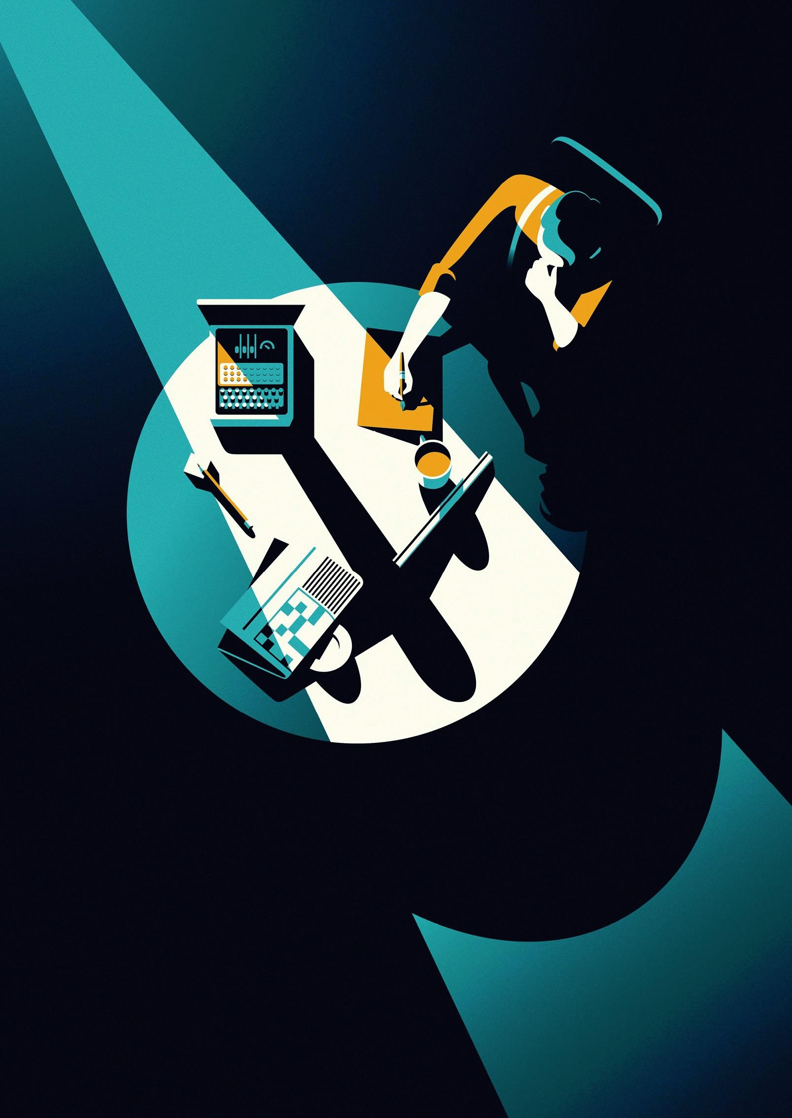 Malika Favre BAFTA Imitation Game Poster