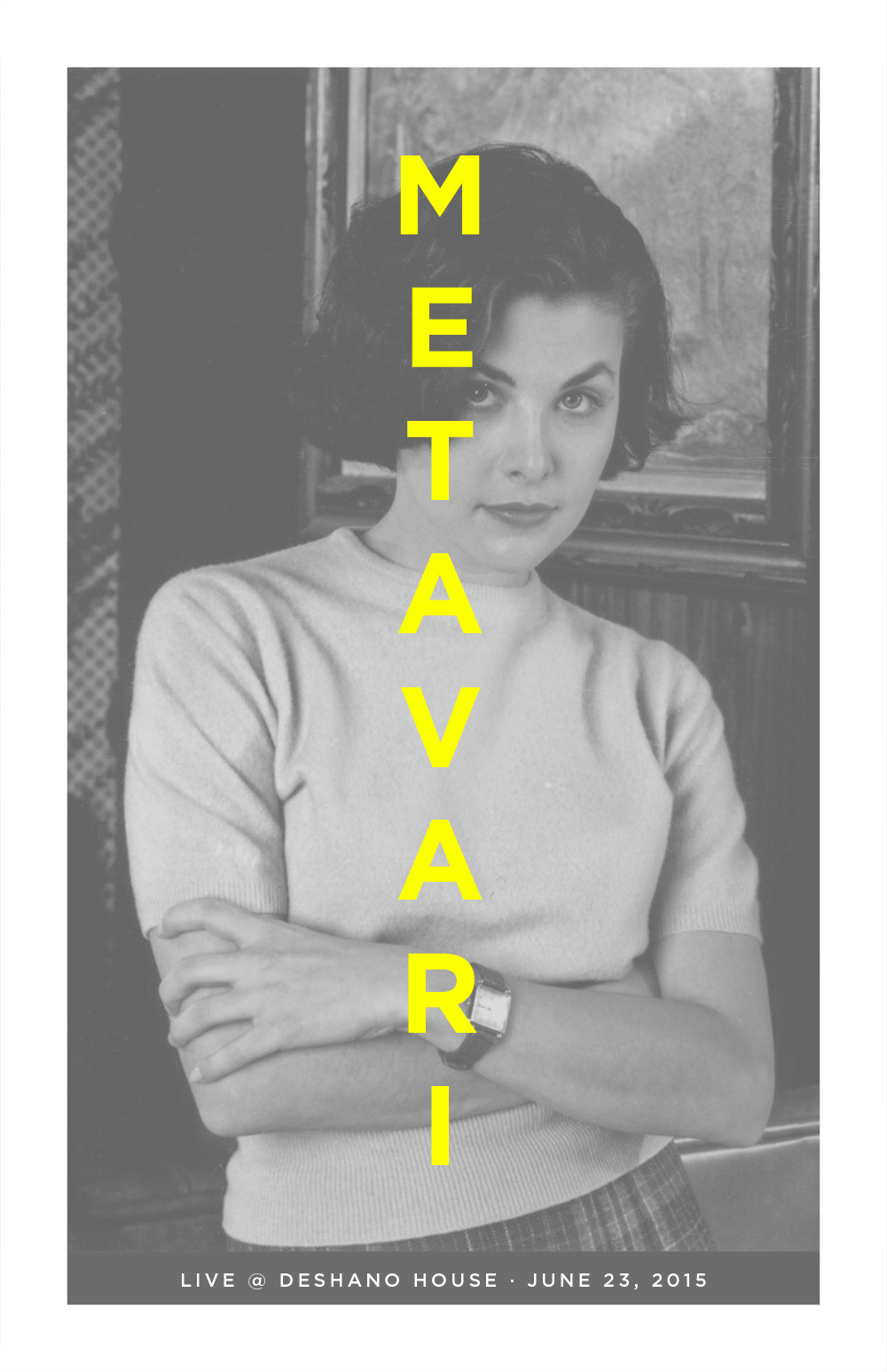 Metavari Poster - Twin Peaks Audrey Horne