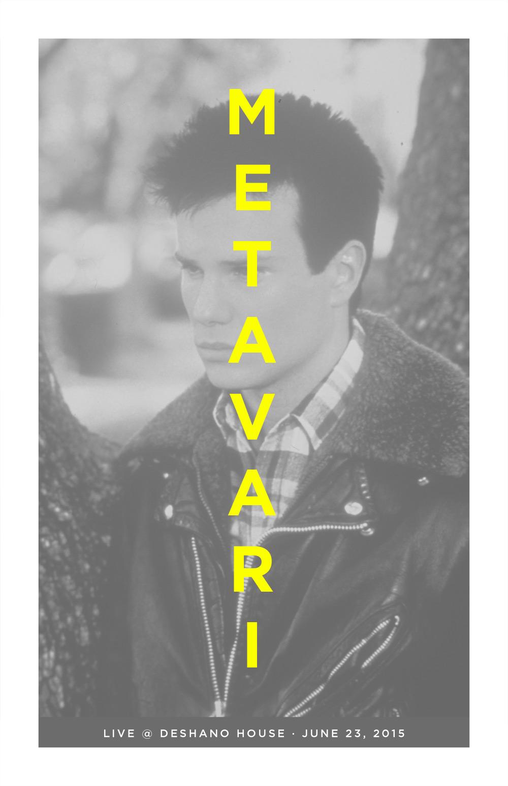Metavari Poster - Twin Peaks James