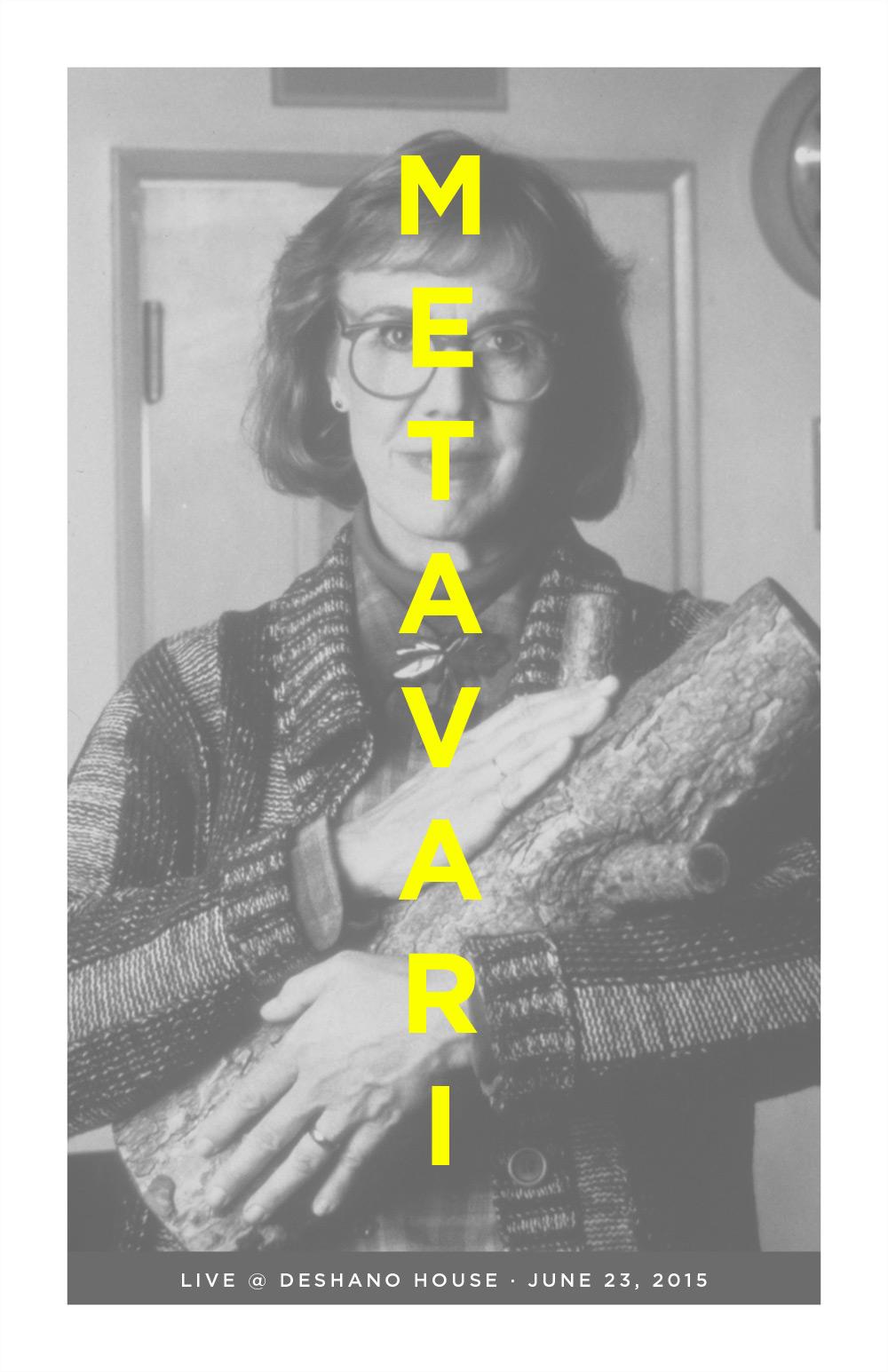 Metavari Poster - Twin Peaks Log Lady