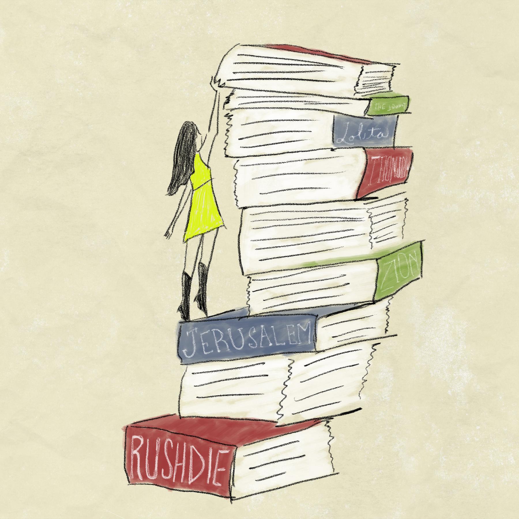 book-climbing